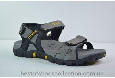 Подростковые сандалии серые Steiner 6833