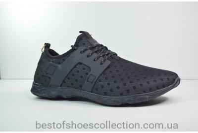 Мужские кроссовки черные Restime в стиле Climacool 20227