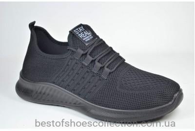Мужские кроссовки сетка черные XIFA 3031 - 6