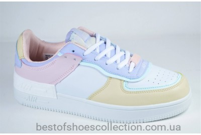 Женские спортивные туфли кеды разноцветные Ditof 9165 - 1