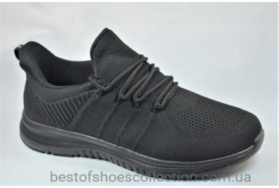 Подростковые и женские кроссовки сетка черные 190022