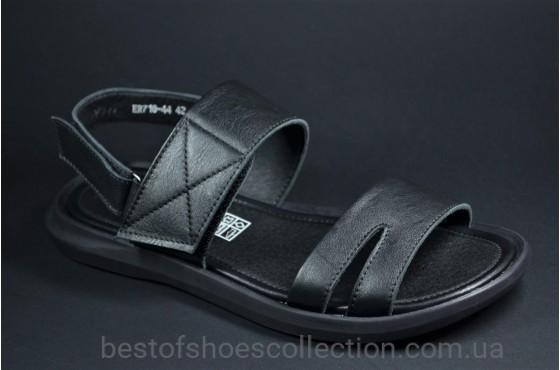 Мужские сандалии черные Rondo 71844