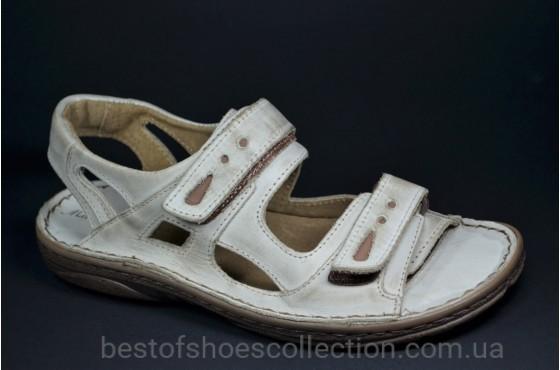 Мужские сандалии светло серые Mario Boschetti 017 - 72