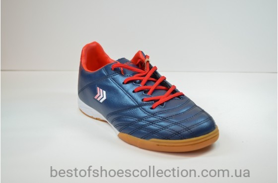 Подростковые футзалки синие Restime DWO 19999