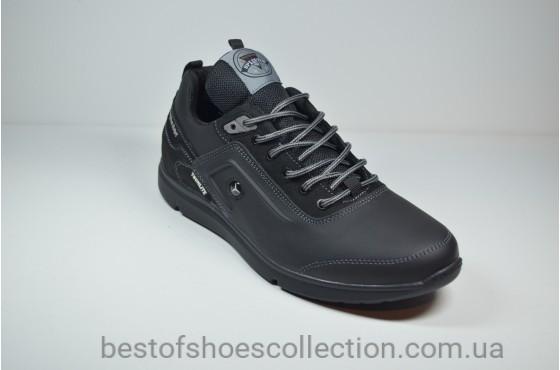 Мужские кроссовки черные Splinter 1719