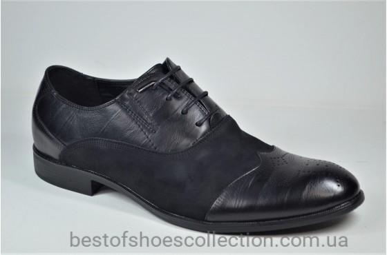 Мужские туфли черные Desay 0120 - 211