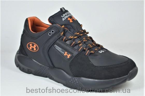 Мужские кроссовки черные в стиле U 1