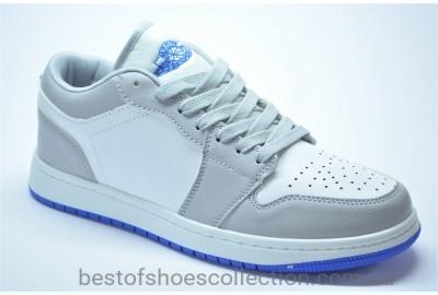 Женские и подростковые спортивные туфли кеды серые с белым и синим 90592