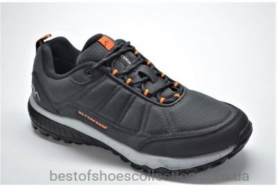 Мужские демисезонные термо кроссовки серые BAAS 71522