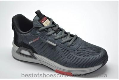 Мужские демисезонные кроссовки серые BAAS 71392
